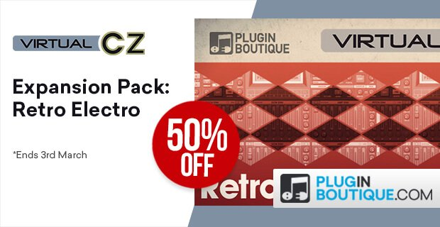 VirtualCZ Retro Electro Expansion sale