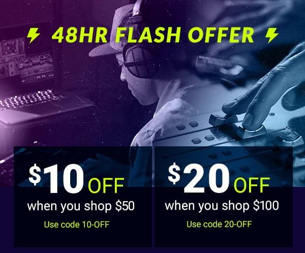 Waves 48 hour flash sale