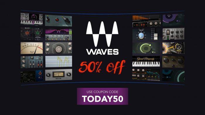 Waves Audio Flash Sale 50 OFF