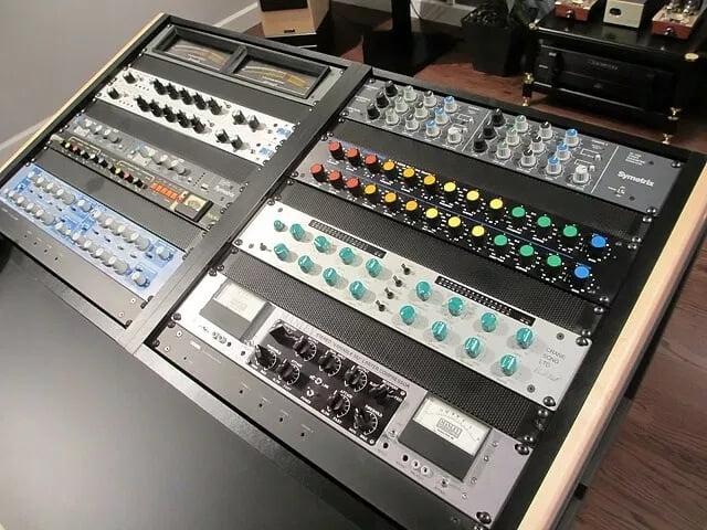 mastering studio equipment large