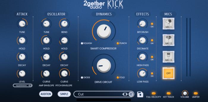 2getheraudio K1CK expert view