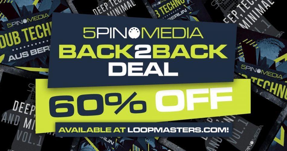 5Pin Media Back 2 Back Deal