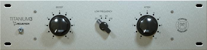 Acustica Audio Titanium3 BASSTARD