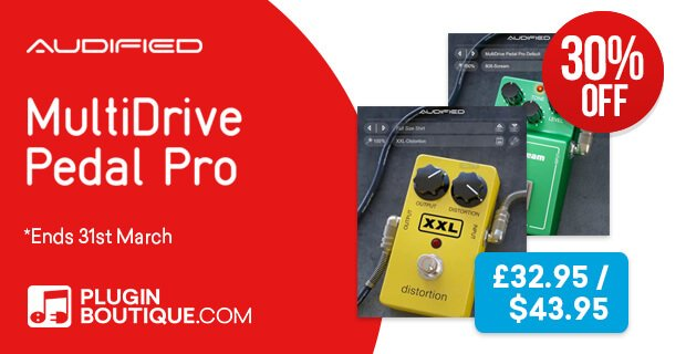Audified MultiDrivePedalPro 30 off