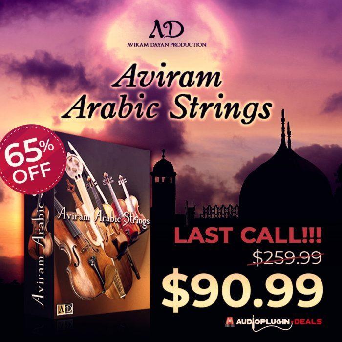 Audio Plugin Deals Aviram Arabic Strings