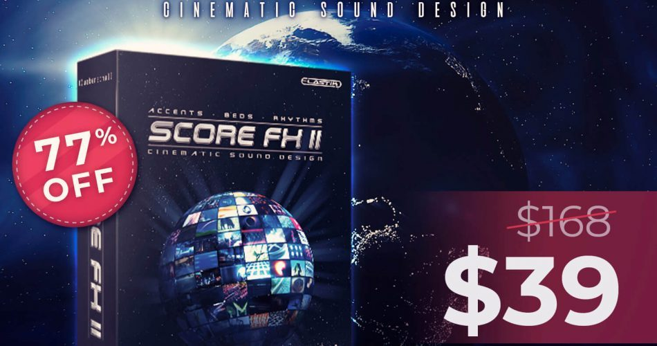 Audio Plugin Deals Ueberschall Score FX II