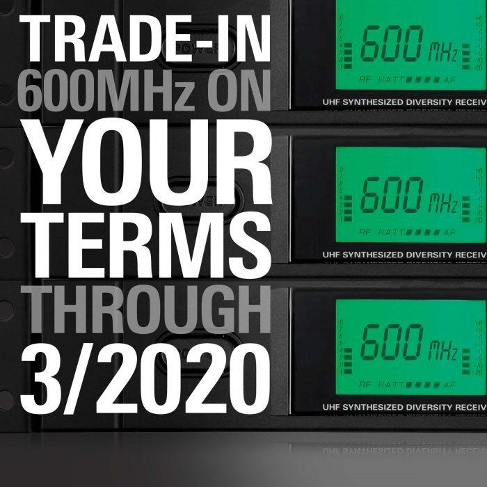 Audio Technica 600MHz Rebate