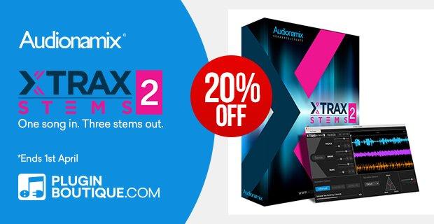 Audionamix XTRAXStems 2 Sale