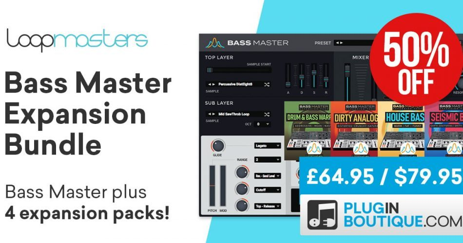 Bass Master Bundle 50 OFF