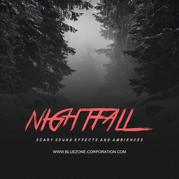 Bluezone Nightfall Scary Sound Effects and Ambiences