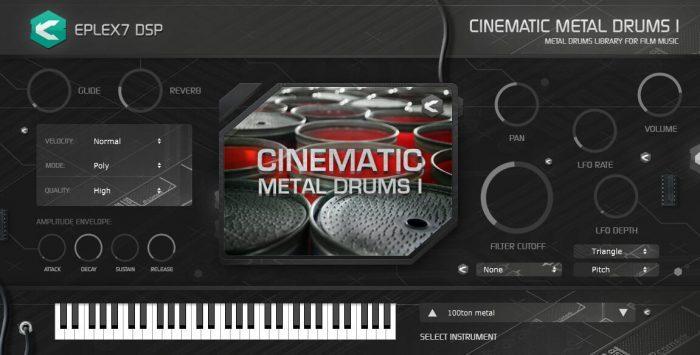 Eplex7 Cinematic Metal Drums 1