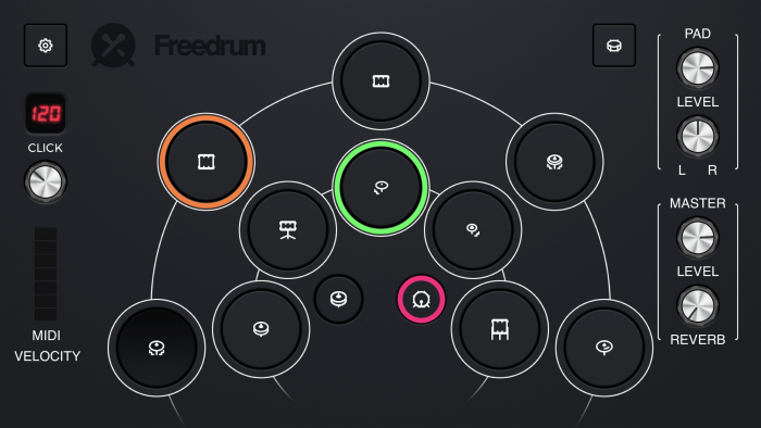 Freedrum 2 for iPhone