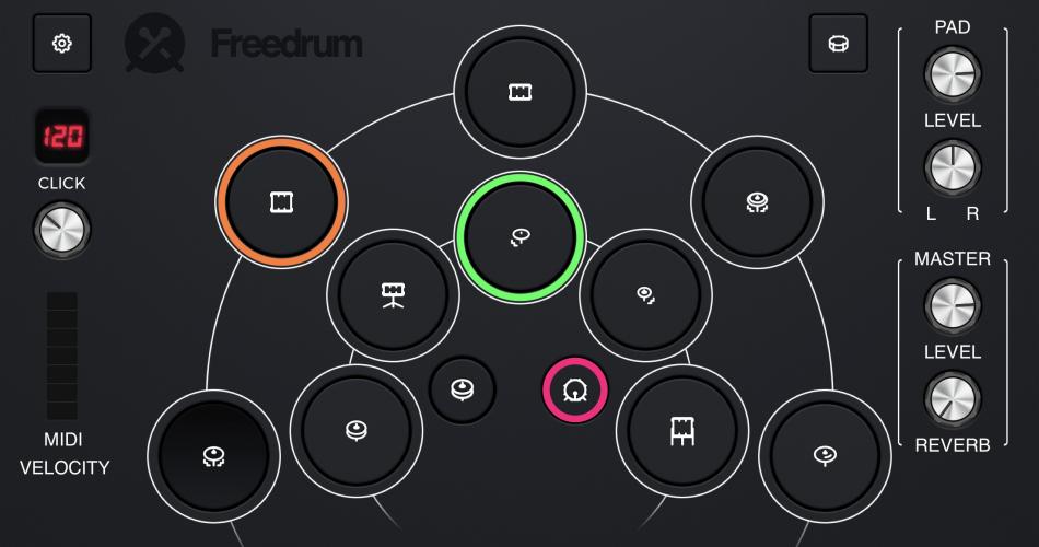 Freedrum 2 for iPhone