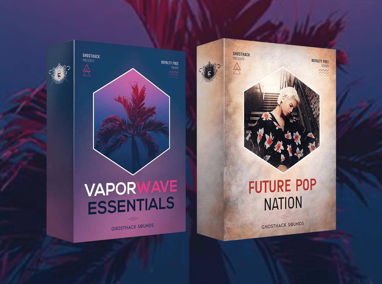 Get 55% OFF Ghosthack Vaporwave Essentials, Future Pop Nation & more