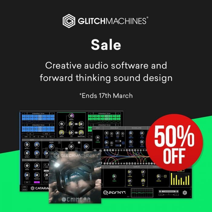 Glitchmachines 50 OFF