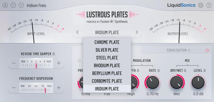 LiquidSonics Lustrous Plates Light