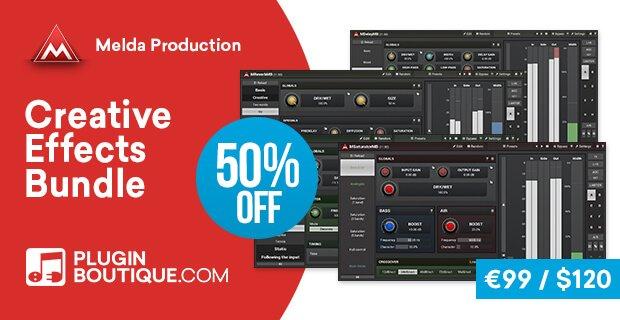 Meldaproduction Creative Effects Bundle 50 OFF