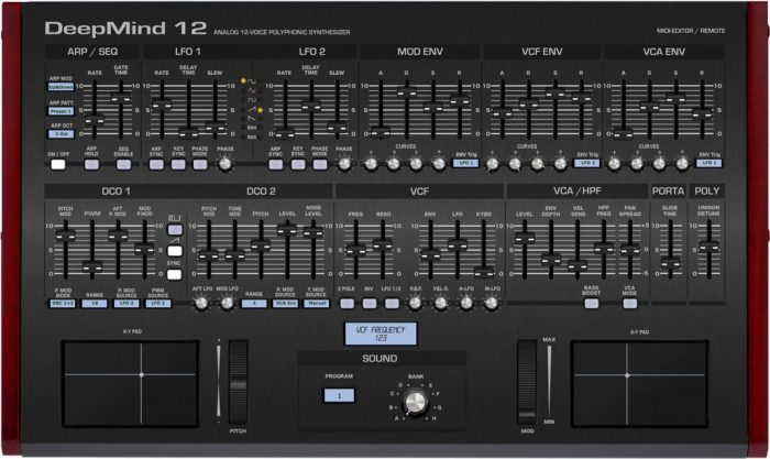 Momo DeepMind 12 editor and controller