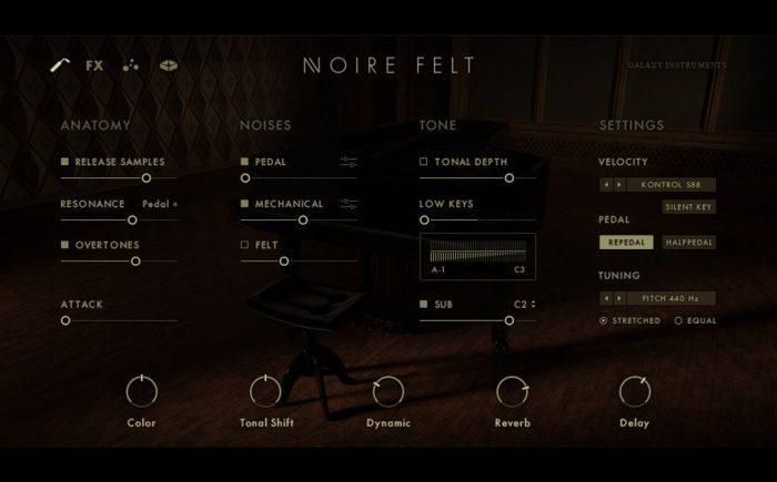 NI Noire felt edit