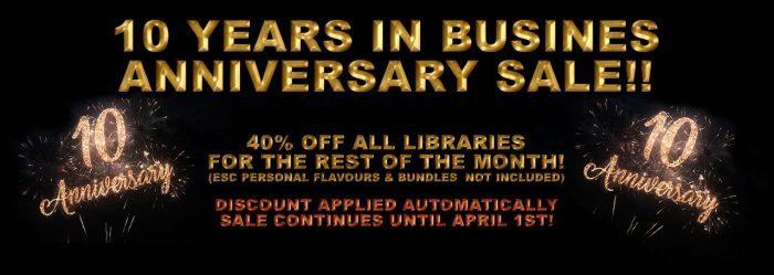 PlugInGuru Anniversary Sale