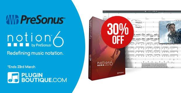 Presonus Notion 30 OFF