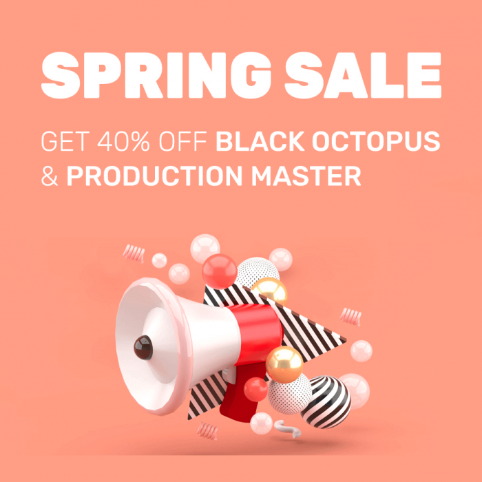 Prime Loops Spring Sale Black Octopus Sound & Production Master