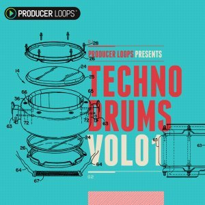 Proudcer Loops Techno Drums