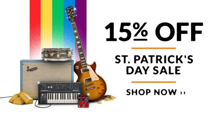 Reverb St Patricks Day Sale