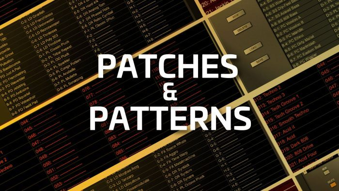 Roland Cloud Techno Suite Patches Patterns
