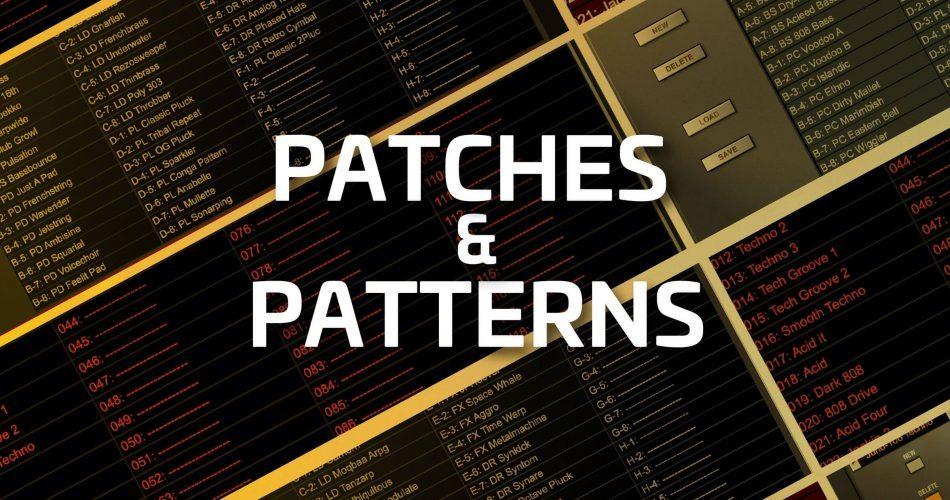 Roland Cloud Techno Suite Patches Patterns