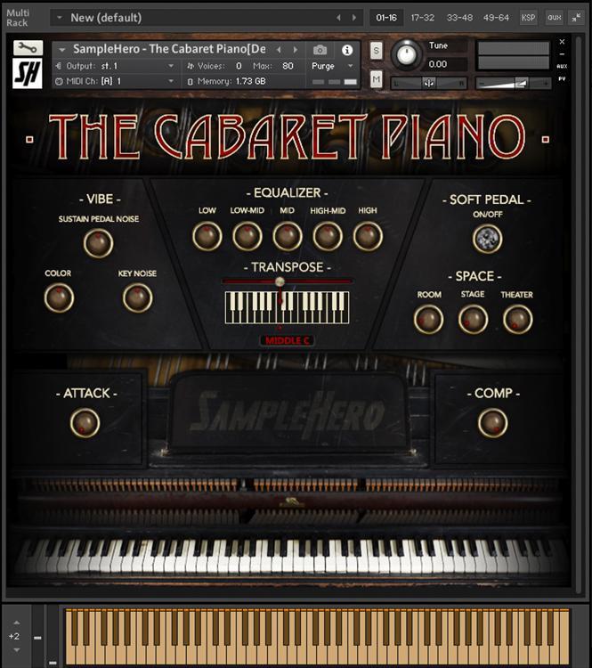 SampleHero Cabaret Piano