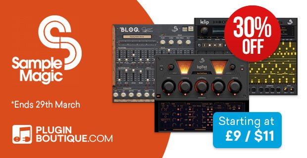Smaple Magic plugins & Ableton Racks 30 OFF