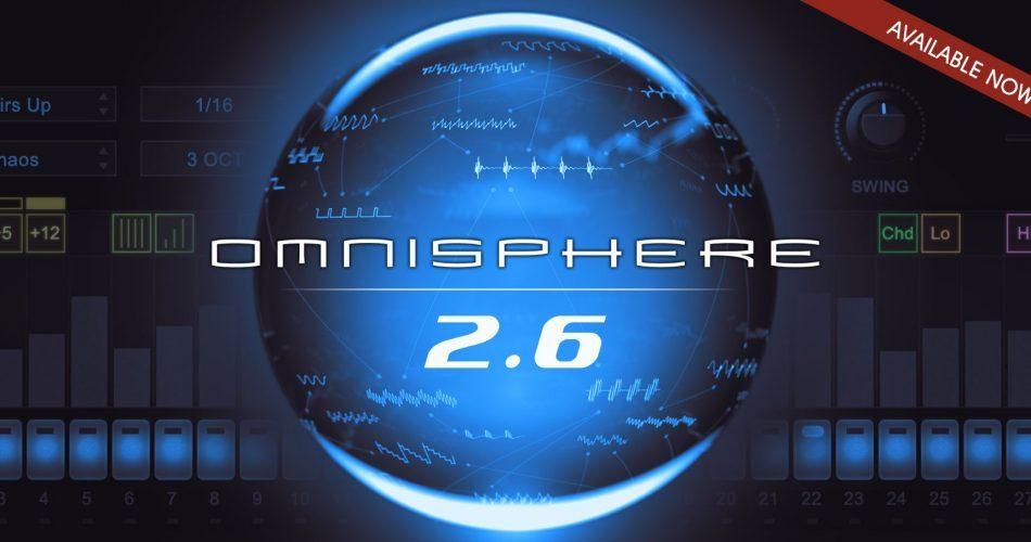 Spectrasonics Omnisphere 2.6 available now