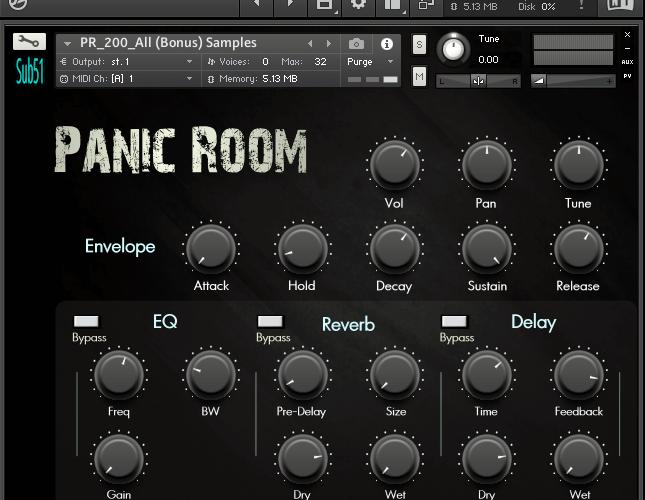 Sub51 Panic Room