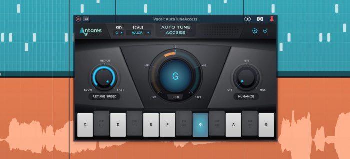 Tracktion Waveform 10 AutoTune