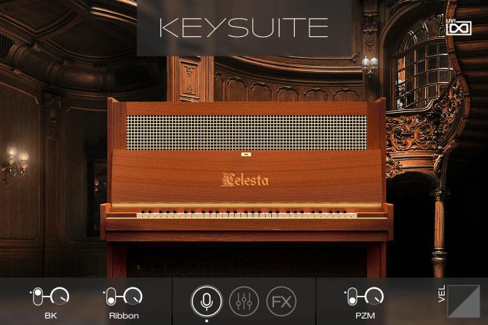 UVI Key Suite Acoustic Celasta