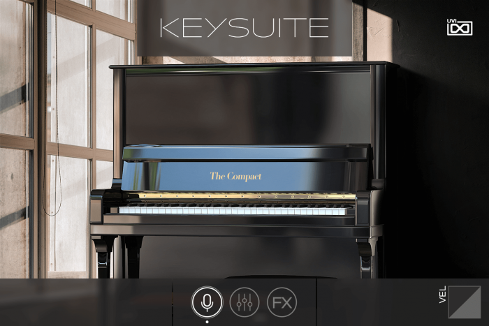 UVI Key Suite Acoustic Compact