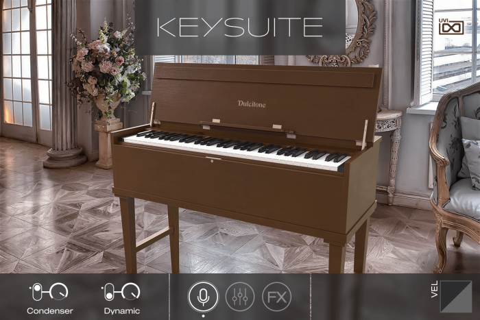 UVI Key Suite Acoustic Dulcitone