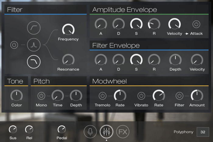 UVI Key Suite Acoustic GUI Edit