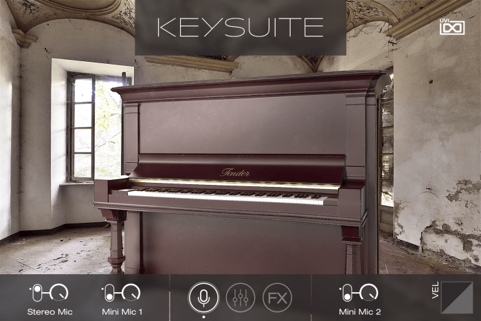 UVI Key Suite Acoustic Tender Upright