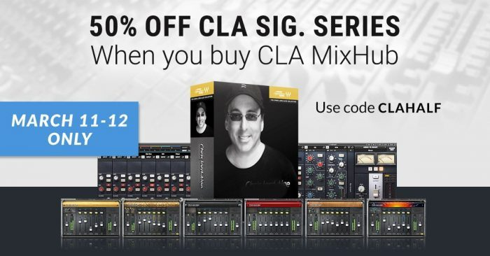 Waves CLA MixHub & Signature Series
