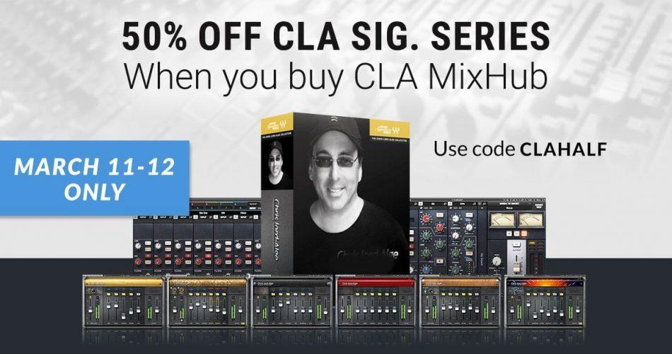 Waves CLA MixHub & Signature Series
