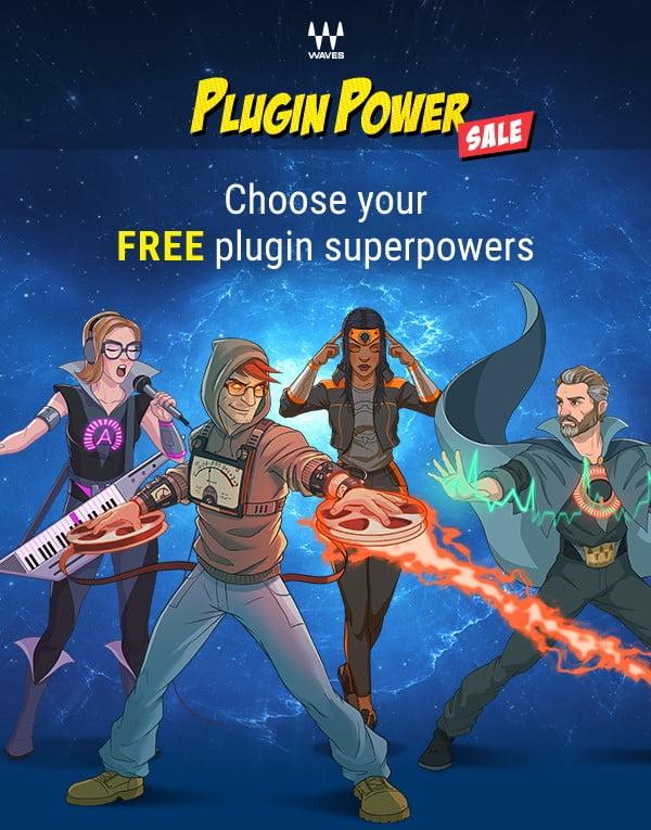 Waves Power Plugin Sale 2019