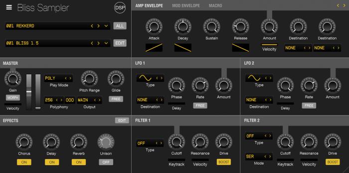discoDSP Bliss sampler 1.5