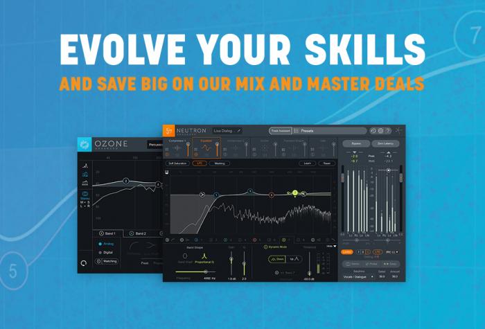 iZotope Evolve Mixing Mastering