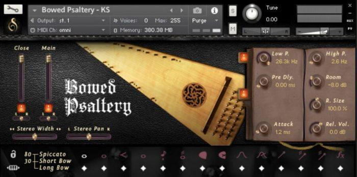 Versilian Studios Bowed Psaltery