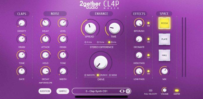 2getheraudio CL4P Maker Advanced Edit