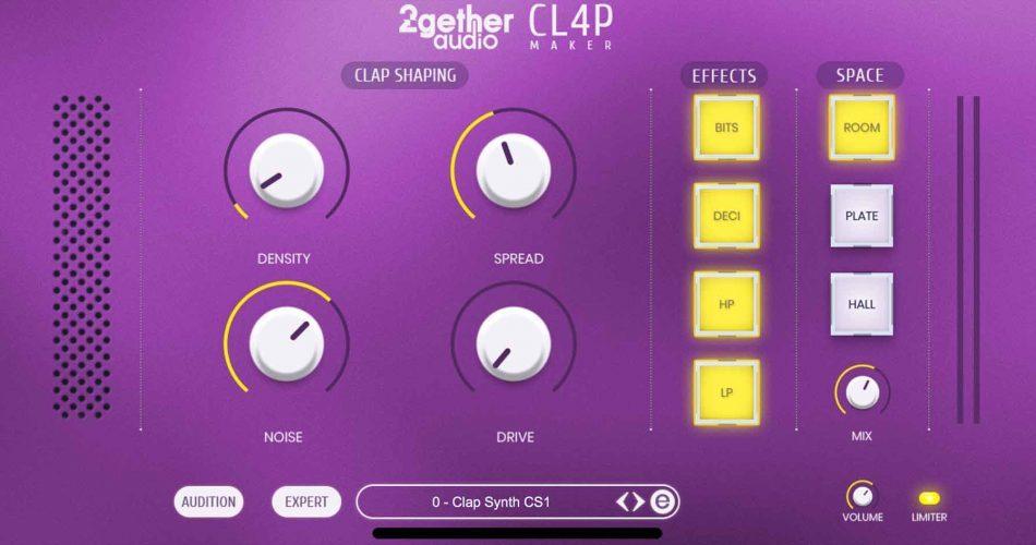 2getheraudio CL4P Maker Quick Edit