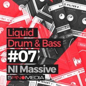 5Pin Media Liquid Drum & Bass NI Massive