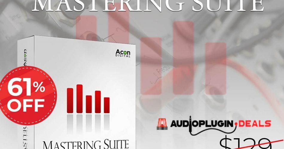 Audio Plugin Deals Acon Digital Mastering Suite